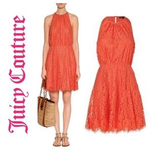 NWT Juicy Couture Scalloped Lace Dress.  Size 0